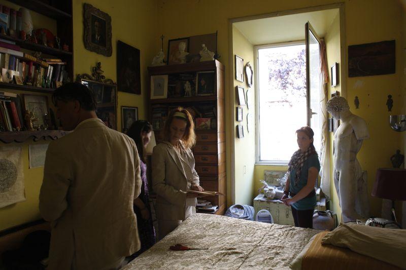 Set2 casa di salvatore sansone iris brosch salvatore sansone alice brunello luise speak about the photo shoot